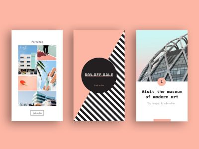 Animated Instagram Stories templates